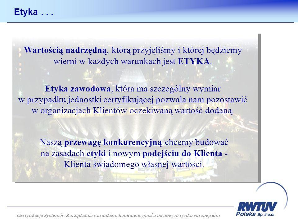 Najnowocześniejszy obiekt sportowy w Europie zbudowany we współpracy z RWTÜV Certyfikacja Systemów Zarządzania warunkiem konkurencyjności na nowym rynku europejskim
