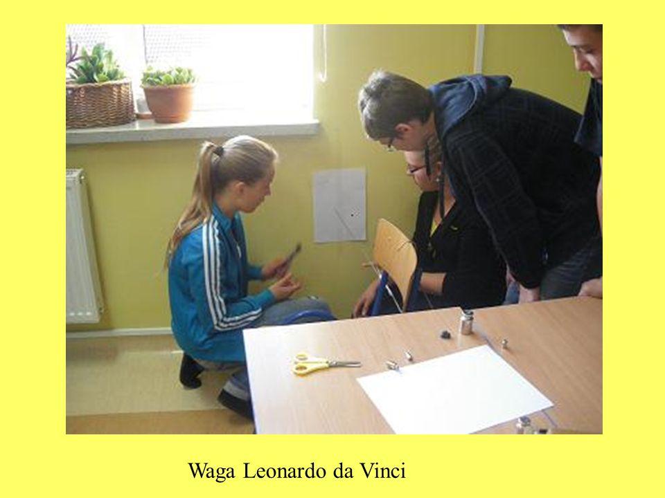 Waga Leonardo da Vinci