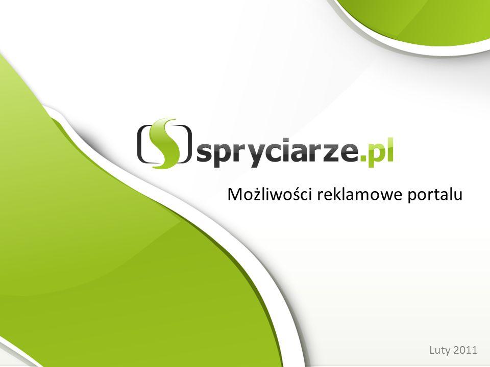Możliwości reklamowe portalu Luty 2011