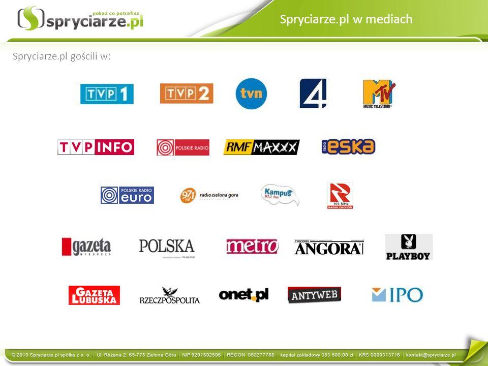 Spryciarze.pl w mediach Spryciarze.pl gościli w: