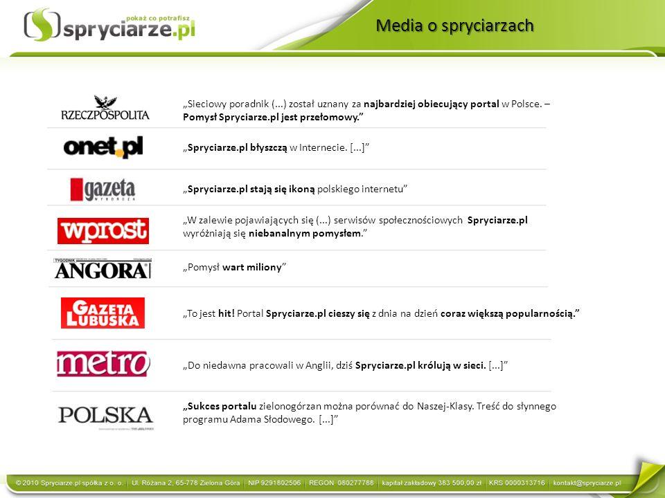 Sieciowy poradnik (...) został uznany za najbardziej obiecujący portal w Polsce.