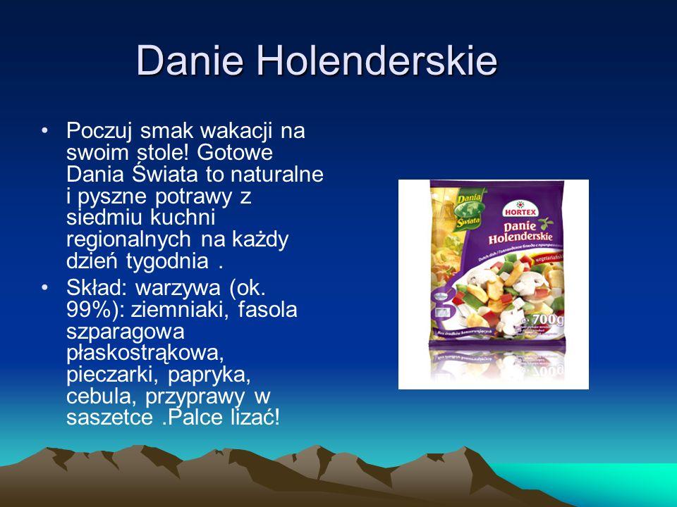 Danie Holenderskie Poczuj smak wakacji na swoim stole! Gotowe Dania Świata to naturalne i pyszne potrawy z siedmiu kuchni regionalnych na każdy dzień