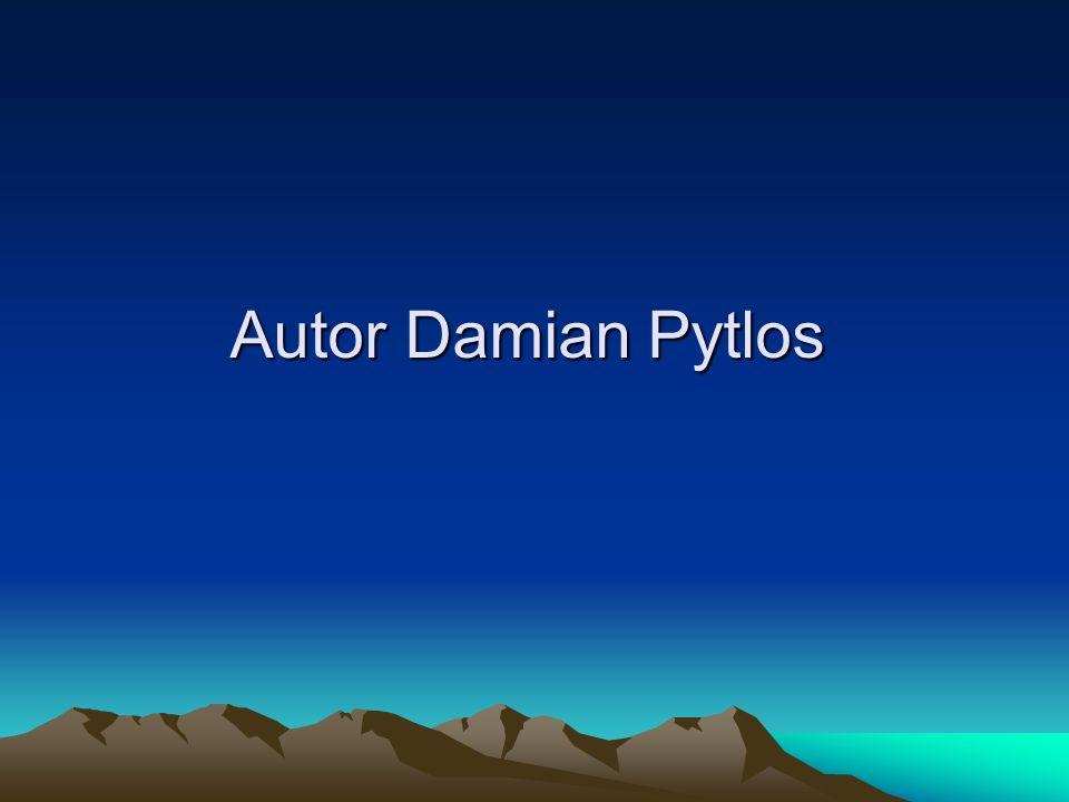 Autor Damian Pytlos