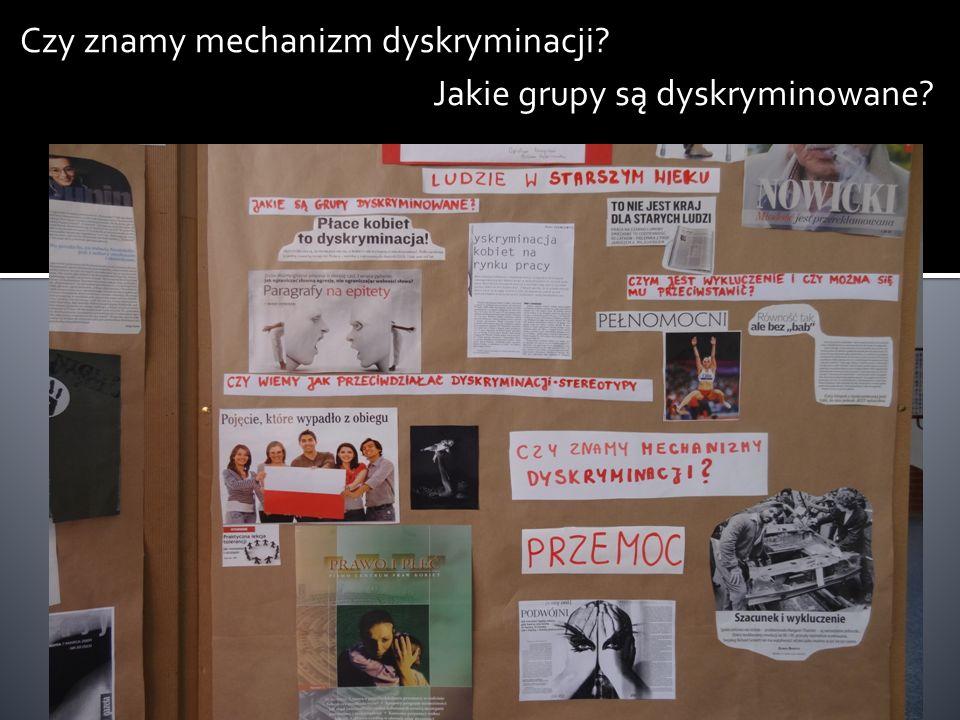 Czy znamy mechanizm dyskryminacji? Jakie grupy są dyskryminowane?