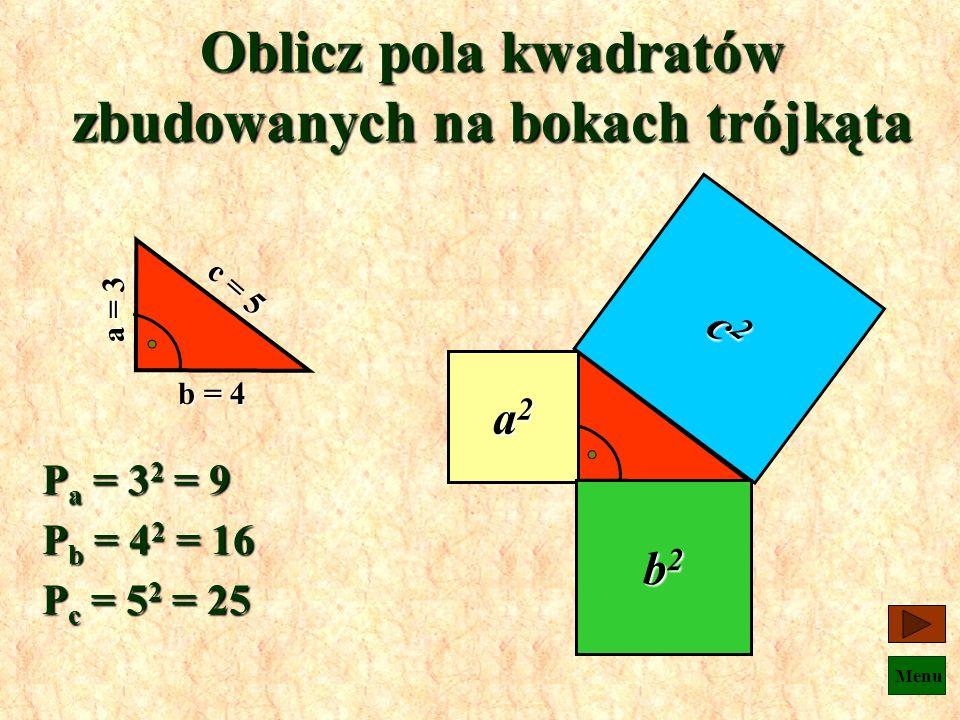Menu To tyle na temat trójkątów