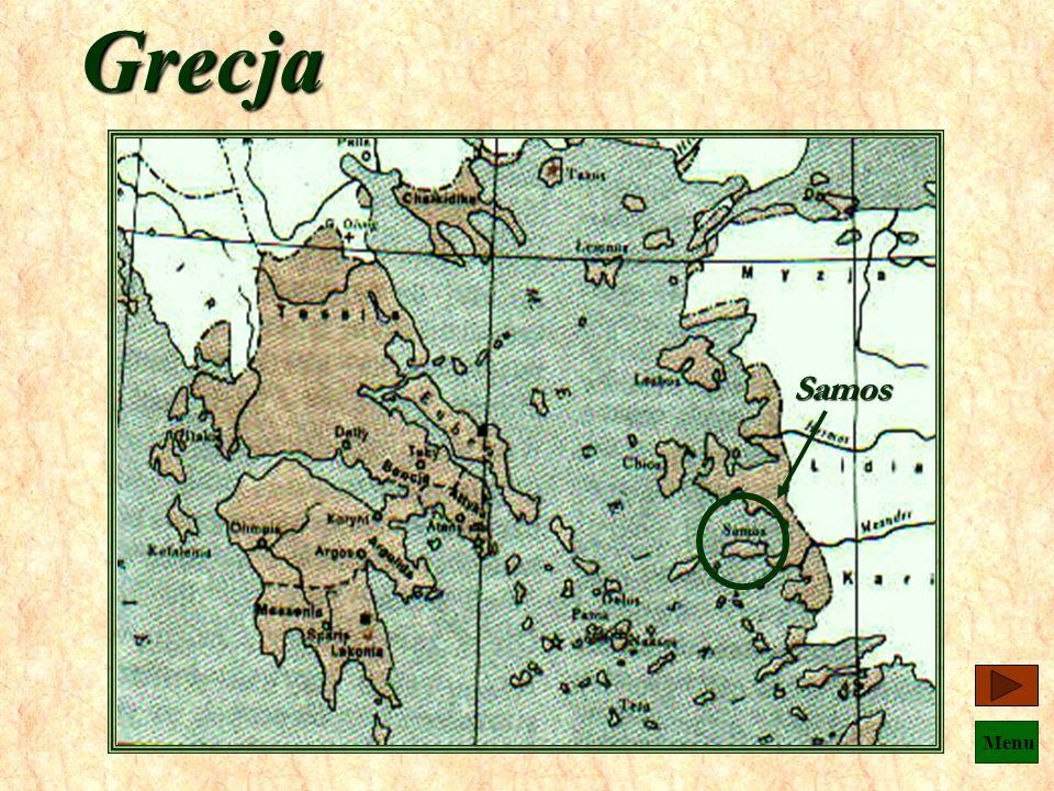 Menu ok.582p.n.e. - ok.496p.n.e. Pitagoras z Samos
