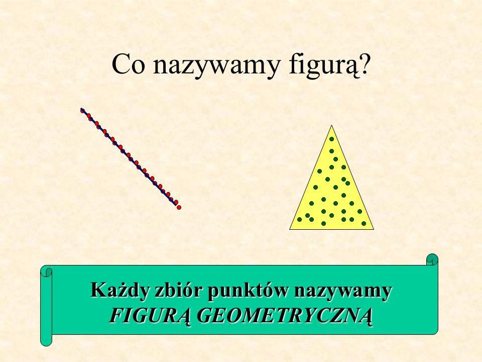 Odcinek Nazwij figury Prostokąt Półprosta Punkt Prosta Trójkąt Kwadrat