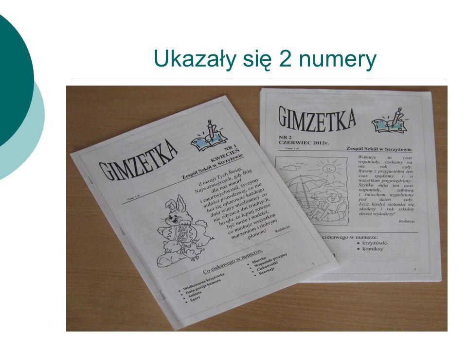 Efekty naszej pracy Efektem naszej pracy są dwa numery gazetki szkolnej, numer 1 wydaliśmy w kwietniu, był on poświęcony głównie tematyce Świąt Wielkanocnych.
