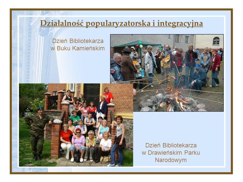 Działalność popularyzatorska i integracyjna Dzień Bibliotekarza w Drawieńskim Parku Narodowym Dzień Bibliotekarza w Buku Kamieńskim