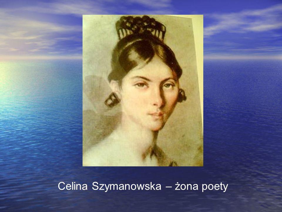Celina Szymanowska – żona poety