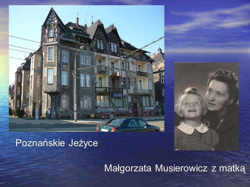 Małgorzata Musierowicz z matką Poznańskie Jeżyce