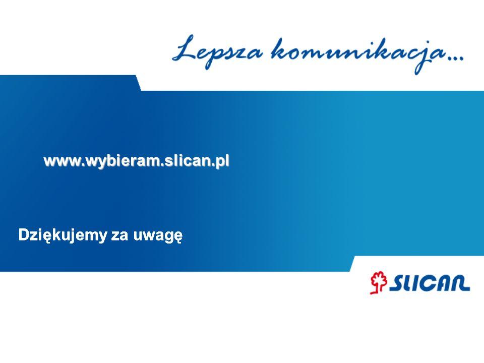 Dziękujemy za uwagę www.wybieram.slican.pl