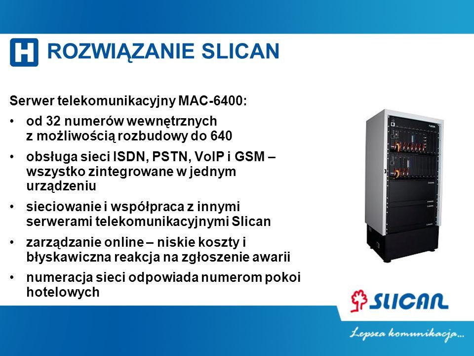 Serwer telekomunikacyjny MAC-6400: od 32 numerów wewnętrznych z możliwością rozbudowy do 640 obsługa sieci ISDN, PSTN, VoIP i GSM – wszystko zintegrow