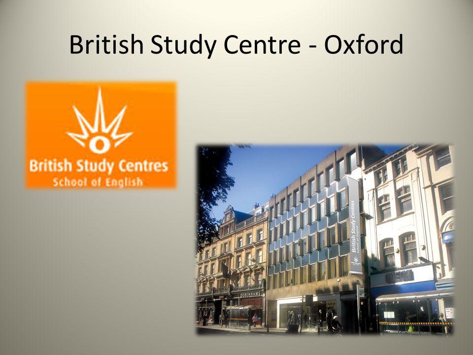 Zajęcia w British Study Centre w ramach programu Comenius – Mobilność Szkolnej Kadry Edukacyjnej Zajęcia obejmowały, m.in.: -wykłady -warsztaty -seminaria.
