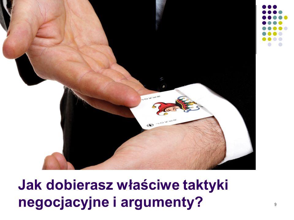 10 wściekły przestraszony oszust zdołowany entuzjasta niezdecydowany Masz skuteczne sposoby na te i inne typy negocjatorów?