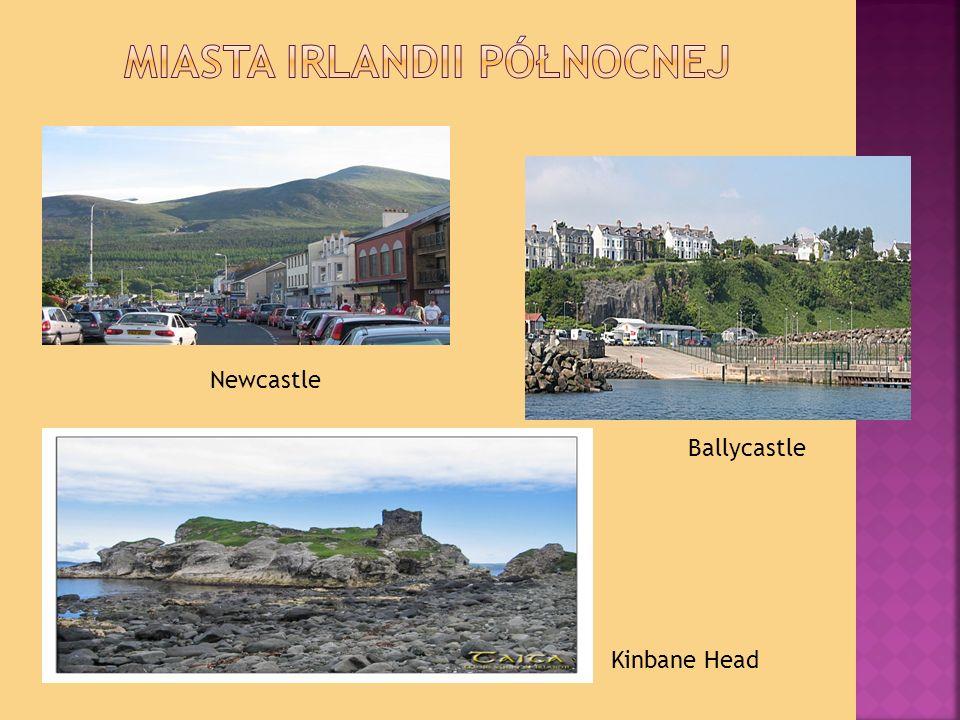 Newcastle Ballycastle Kinbane Head
