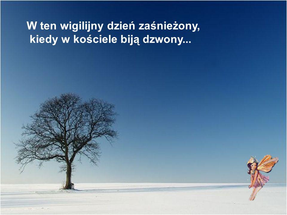 … białym śniegiem oprószonych, bajkowych, jak we śnie.