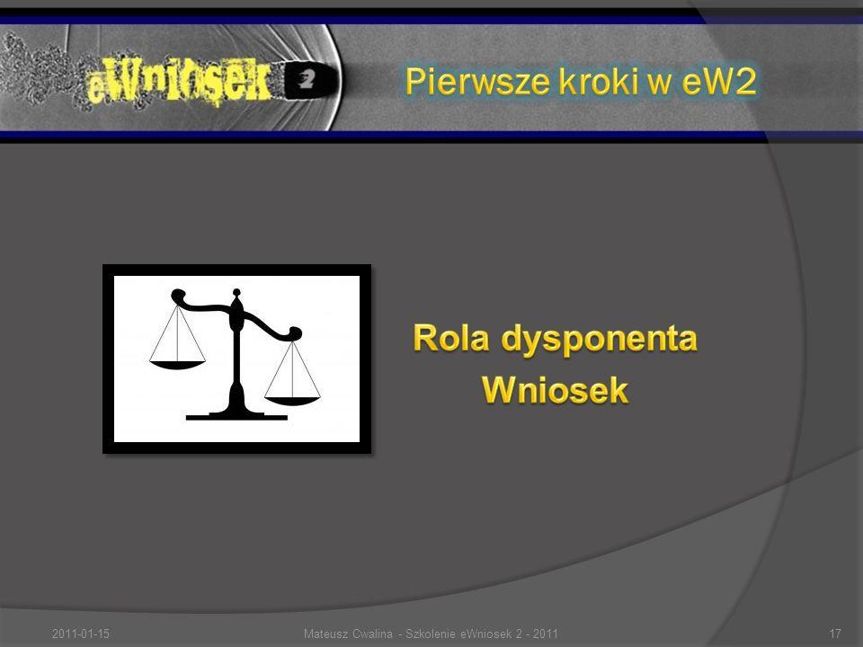 2011-01-1517Mateusz Cwalina - Szkolenie eWniosek 2 - 2011