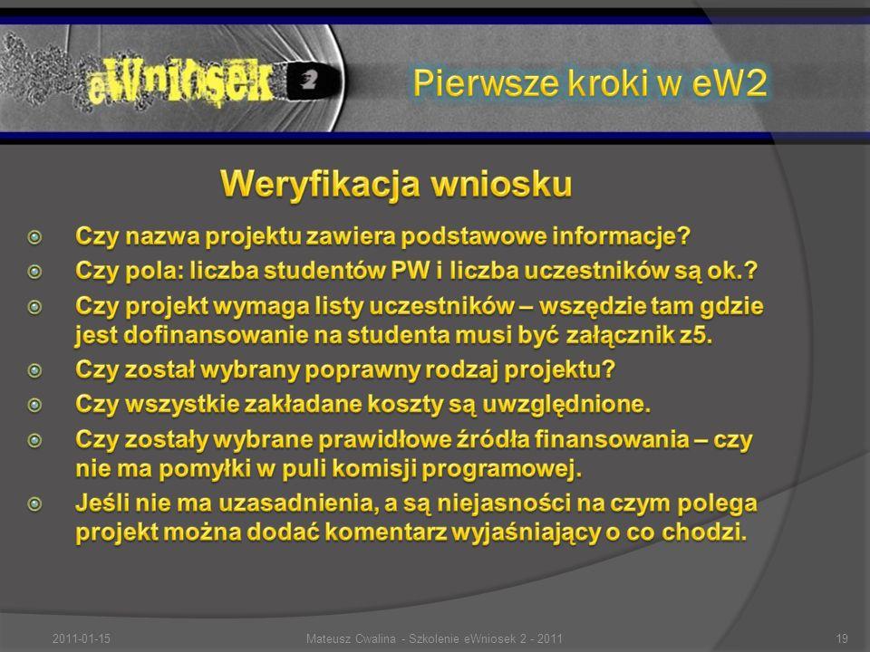2011-01-1519Mateusz Cwalina - Szkolenie eWniosek 2 - 2011