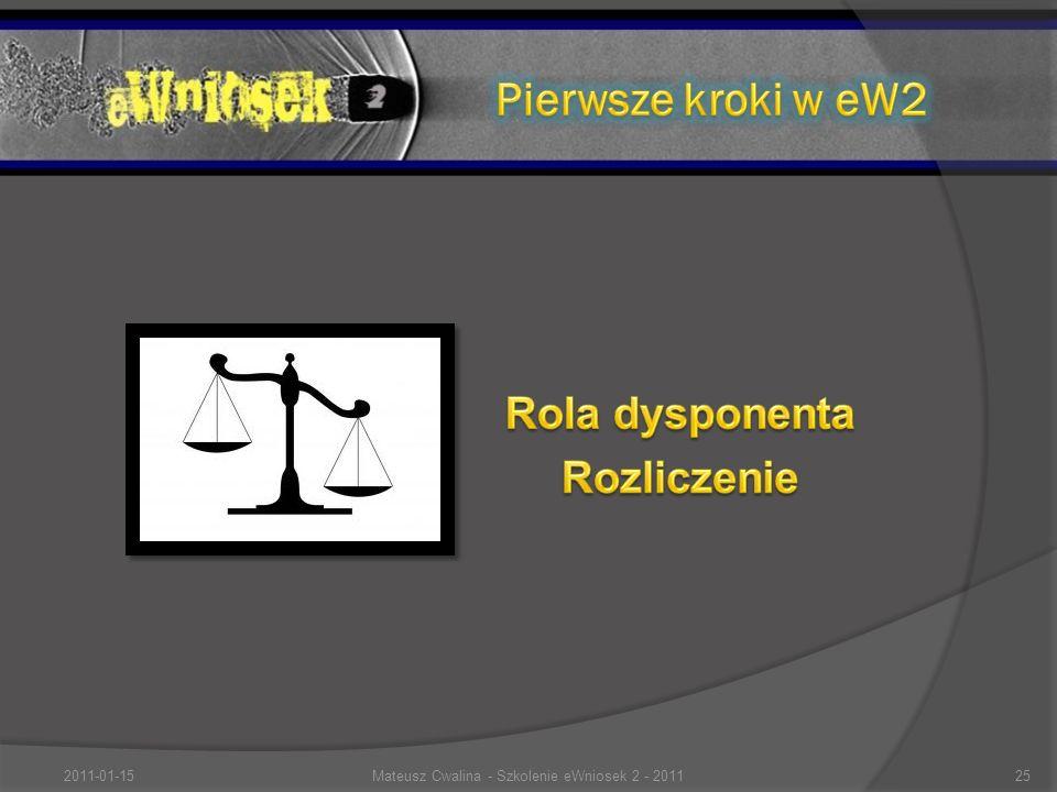 2011-01-1525Mateusz Cwalina - Szkolenie eWniosek 2 - 2011