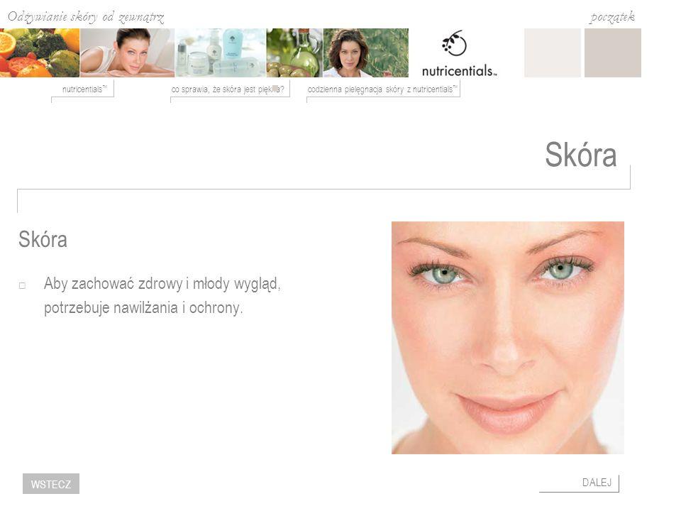 Odżywianie skóry od zewnątrz co sprawia, że skóra jest piękna?codzienna pielęgnacja skóry z nutricentials nutricentials początek DALEJ WSTECZ Skóra Ab