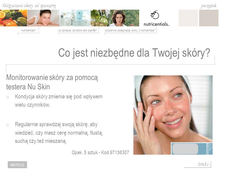 Odżywianie skóry od zewnątrz co sprawia, że skóra jest piękna?codzienna pielęgnacja skóry z nutricentials nutricentials początek DALEJ WSTECZ Co jest