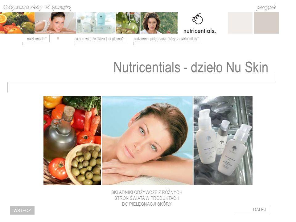 Odżywianie skóry od zewnątrz co sprawia, że skóra jest piękna?codzienna pielęgnacja skóry z nutricentials nutricentials początek DALEJ WSTECZ Nutricen
