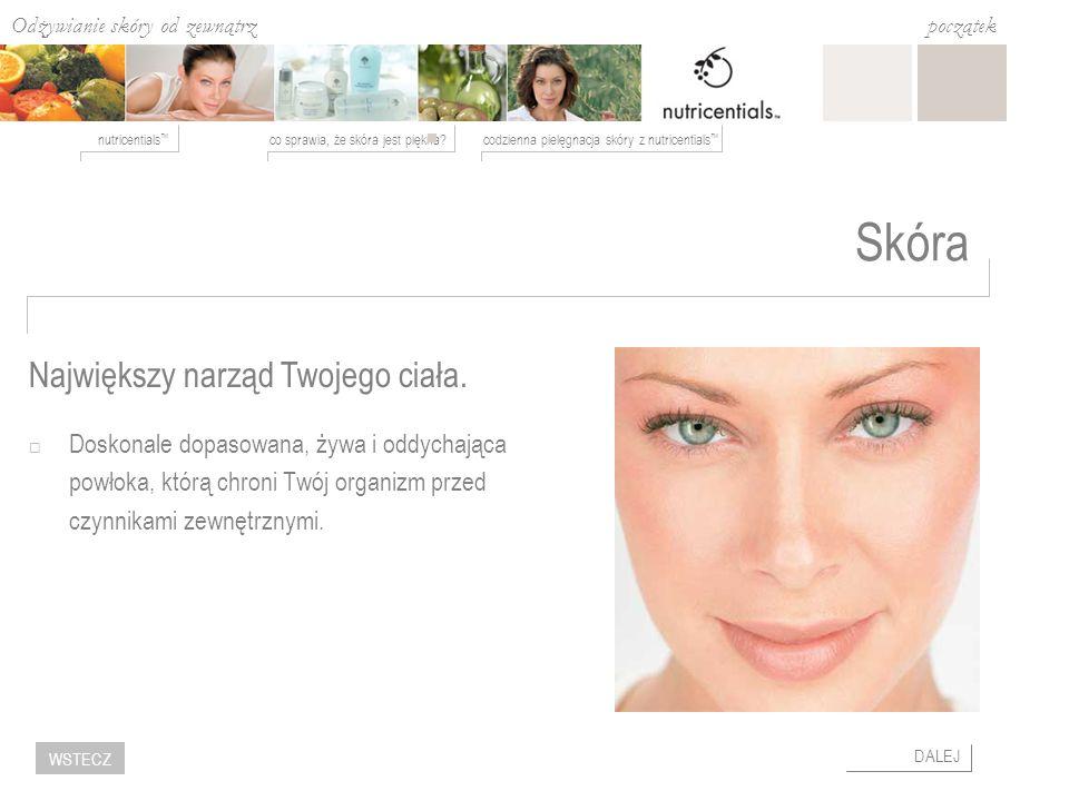 Odżywianie skóry od zewnątrz co sprawia, że skóra jest piękna?codzienna pielęgnacja skóry z nutricentials nutricentials początek DALEJ WSTECZ Najwięks