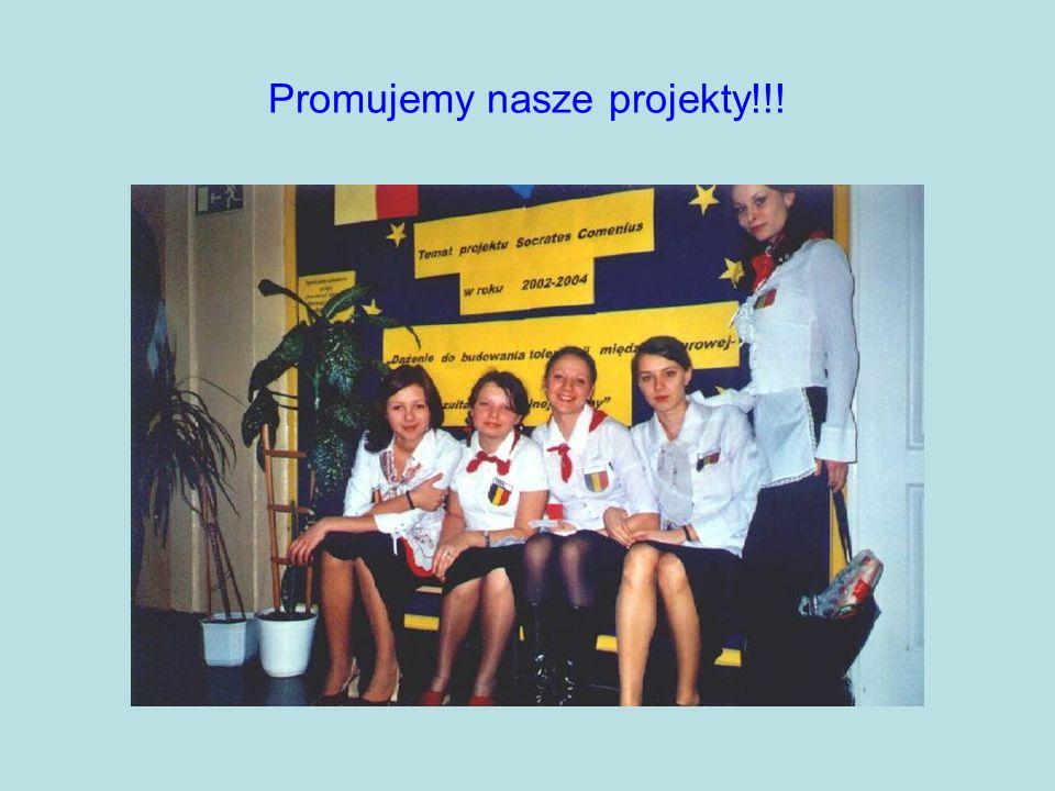 Promujemy nasze projekty!!!