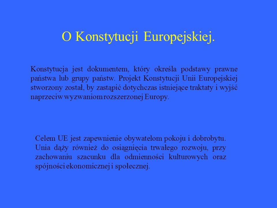 Czym zajmuje się UE.– dziedziny działalności.