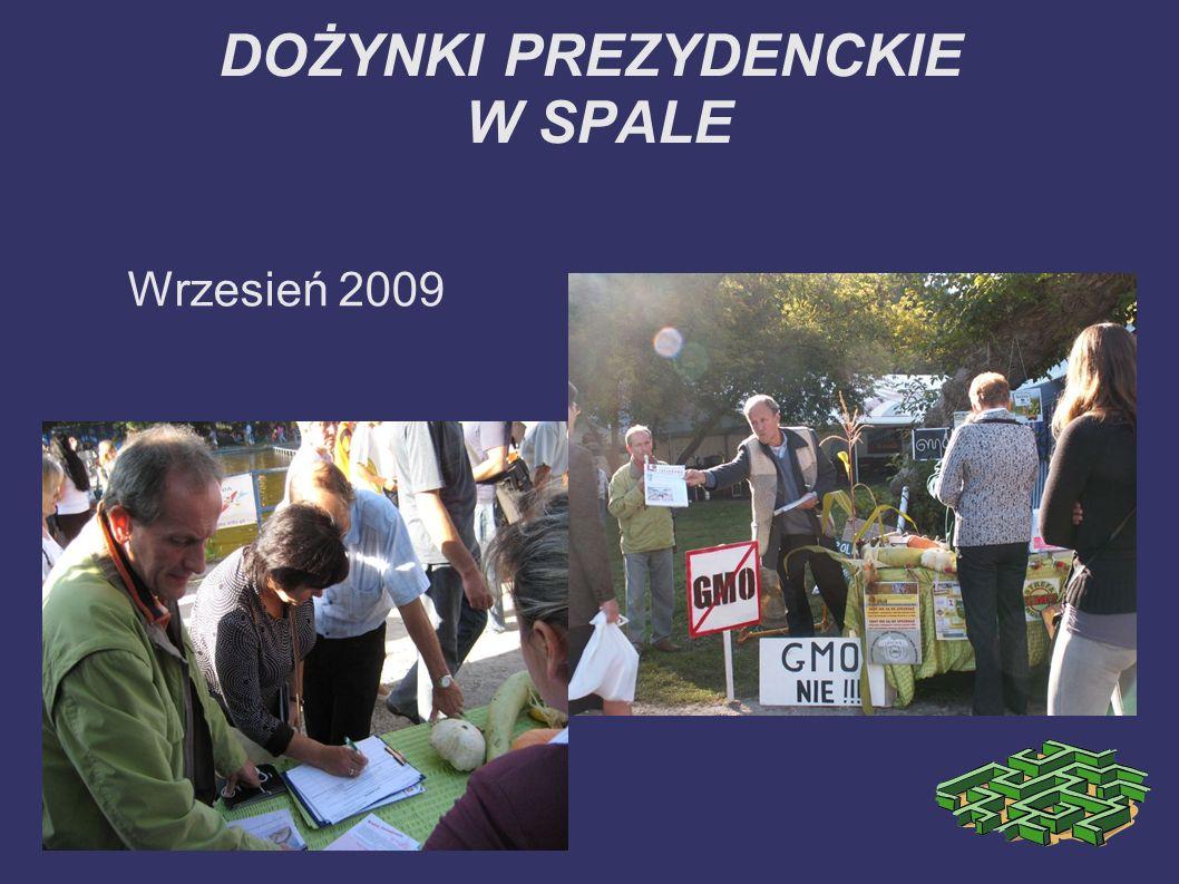 DOŻYNKI PREZYDENCKIE W SPALE Wrzesień 2009