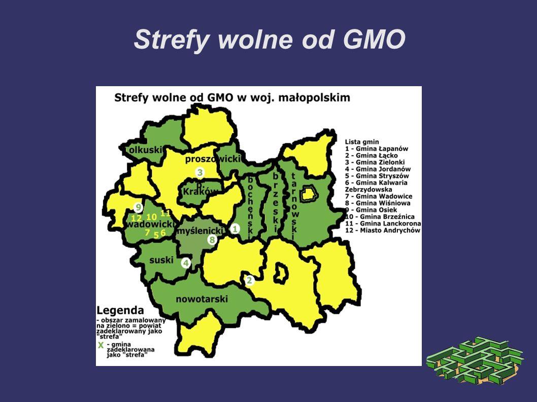 Strefy wolne od GMO