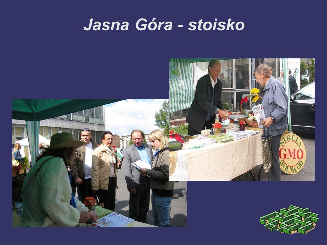 Jasna Góra - przedstawienie