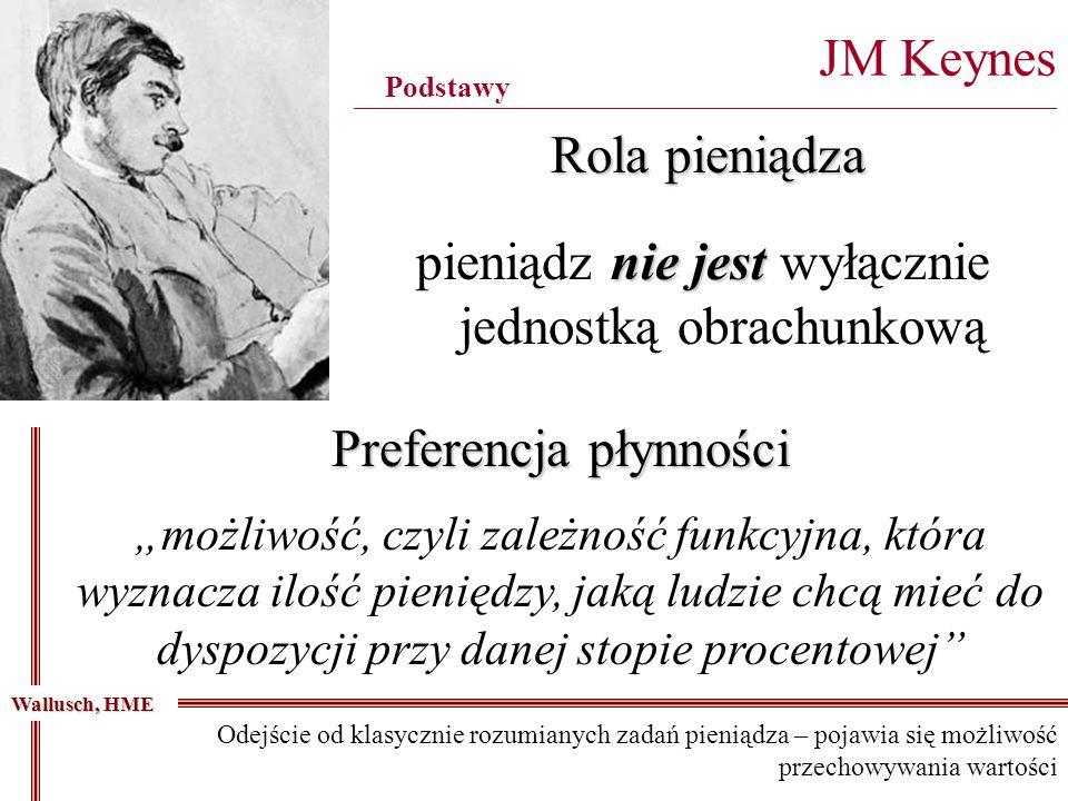 nie jest pieniądz nie jest wyłącznie jednostką obrachunkową JM Keynes _______________________________________________________________________________