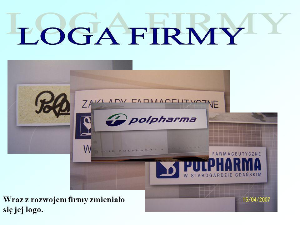 Wraz z rozwojem firmy zmieniało się jej logo.