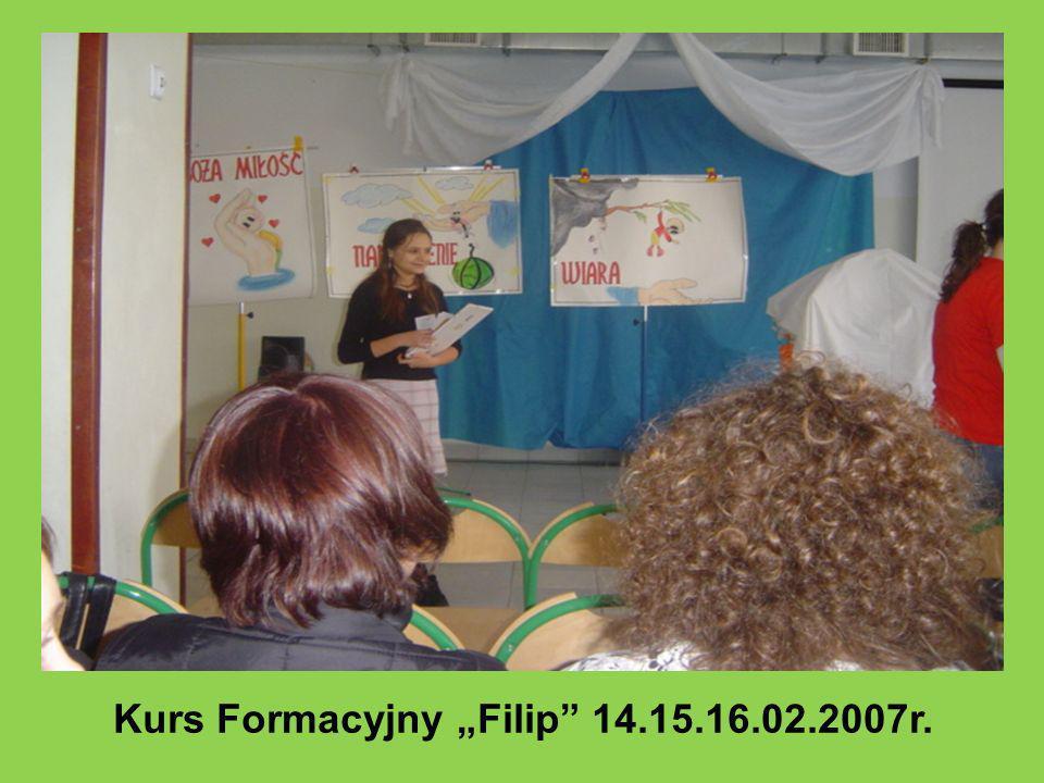 Kurs Formacyjny Filip 14.15.16.02.2007r.