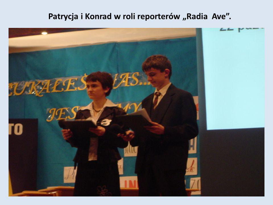 Patrycja i Konrad w roli reporterów Radia Ave.