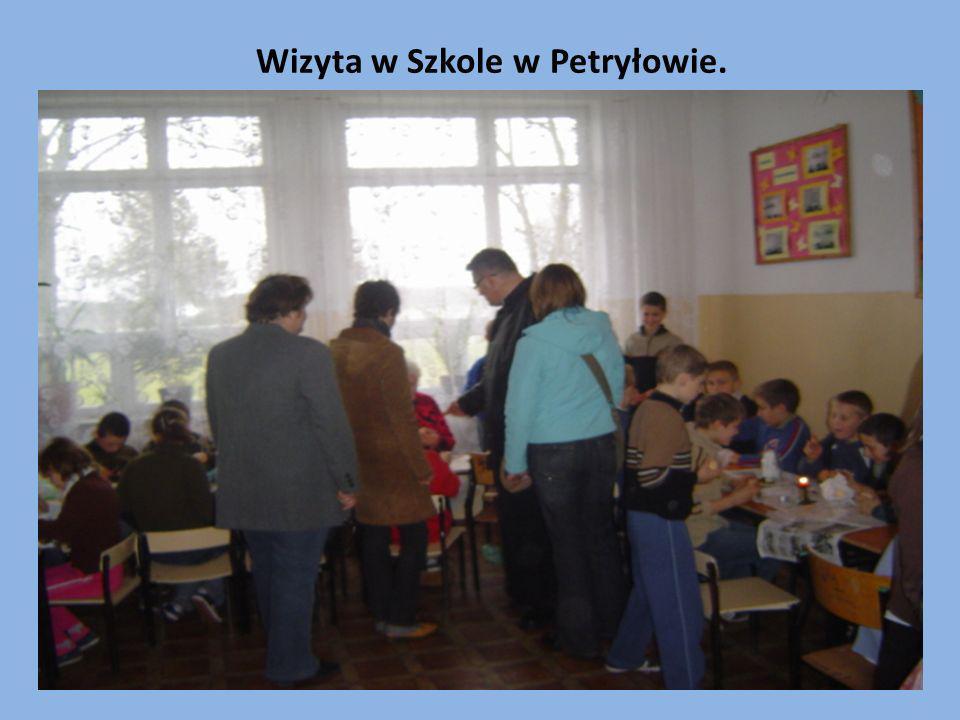 Wizyta w Szkole w Petryłowie.