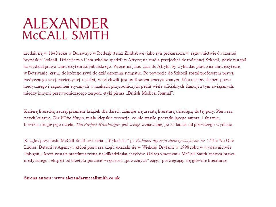 Kto czytał 44 Scotland Street, chętnie dowie się, co słychać nowego u znajomych mieszkańców pewnej kamienicy w Edynburgu.