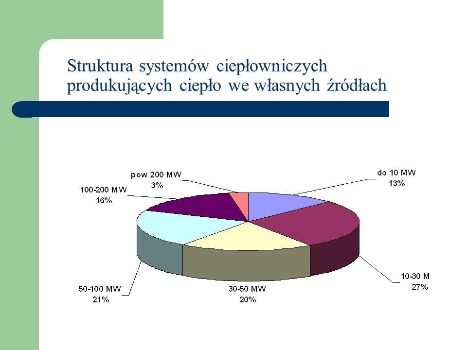 Udział energii elektrycznej produkowanej w skojarzeniu w elektrowniach cieplnych zawodowych w całkowitej produkcji energii elektrycznej w Polsce