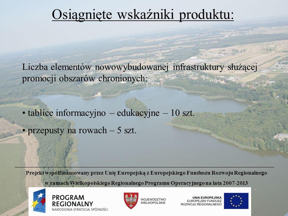 Źródła finansowania projektu: Łączny koszt projektu 282,55 tys.zł 197,08 tys.zł85,47 tys.zł Projekt współfinansowany przez Unię Europejską z Europejskiego Funduszu Rozwoju Regionalnego w ramach Wielkopolskiego Regionalnego Programu Operacyjnego na lata 2007-2013