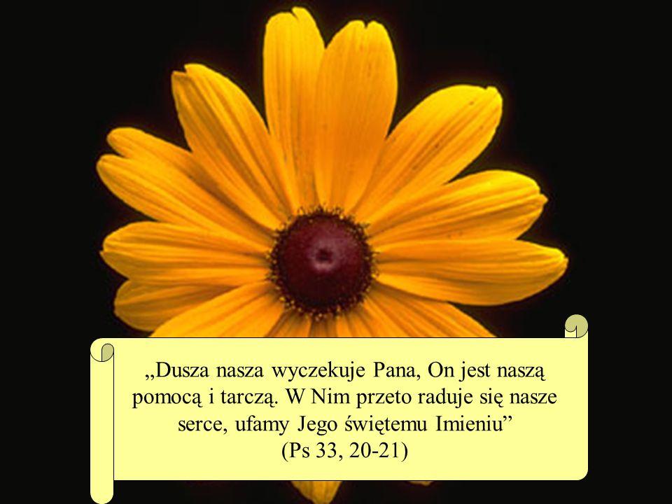 Dusza nasza wyczekuje Pana, On jest naszą pomocą i tarczą.