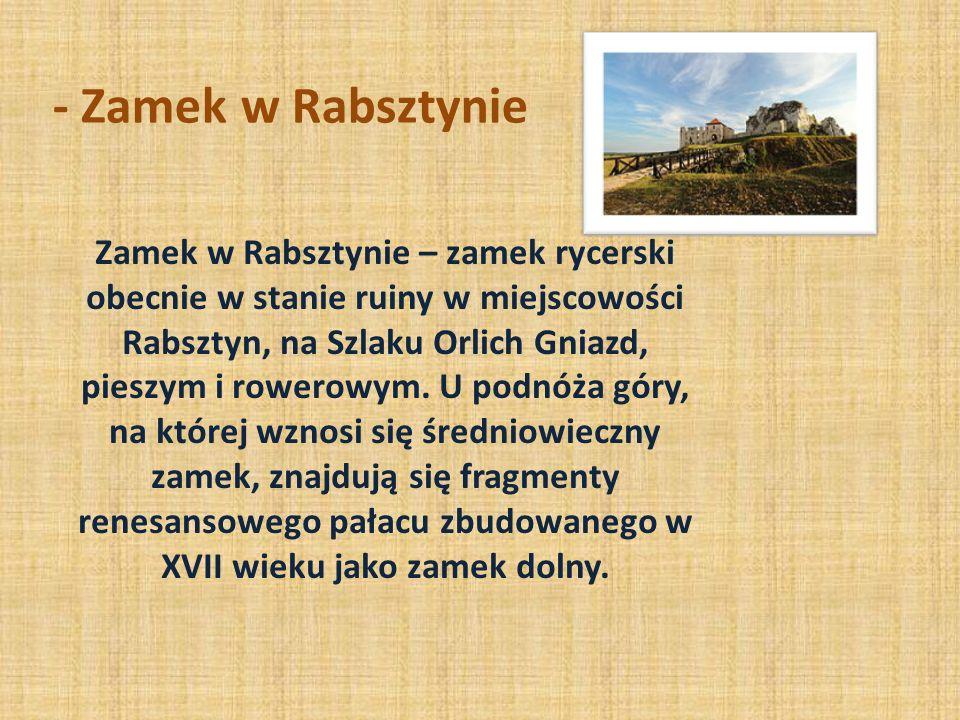 - Zamek w Ostrężniku Zamek Ostrężnik – dawny zamek, obecnie w ruinie, znajdujący się w pobliżu niewielkiej osady Ostrężnik, na wschód od drogi wojewód
