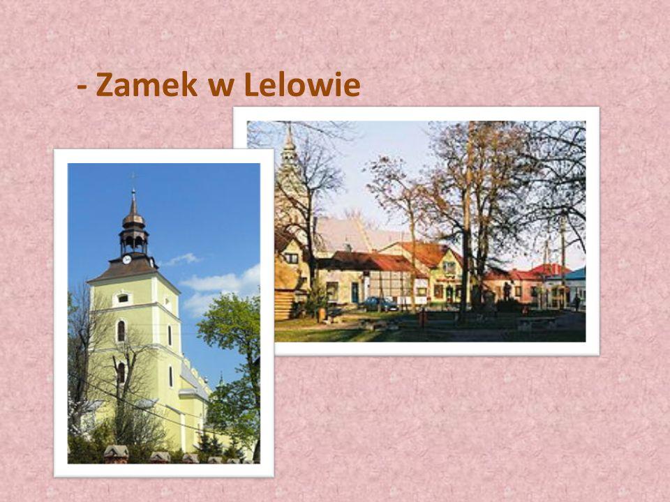 - Zamek w Lelowie