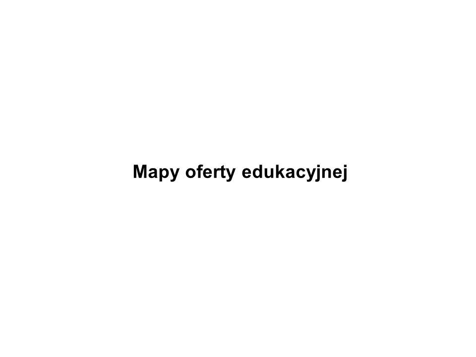 Mapy oferty edukacyjnej