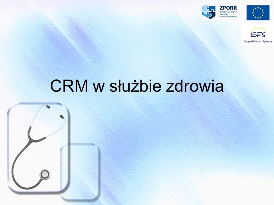 Rodzaje systemów CRM - Operacyjny Operacyjny - w swej funkcjonalności jest podobny do ERP.