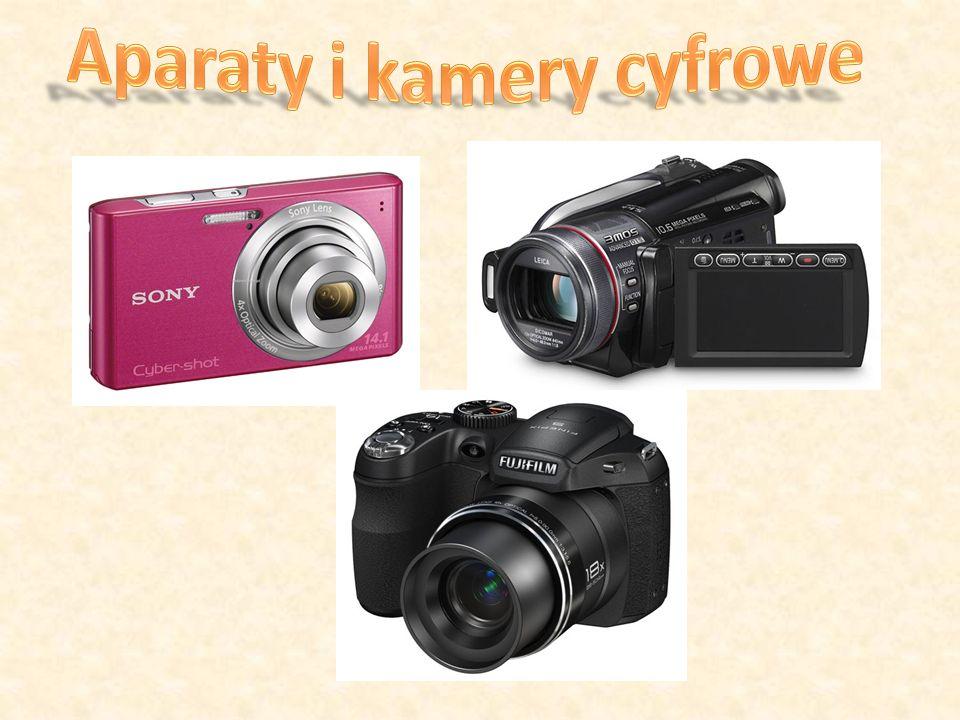 W spółczesne aparaty fotograficzne i kamery wideo to najczęściej urządzenia cyfrowe umożliwiające przesyłanie nagranego materiału do komputera klasy PC za pomocą szybkiego interfejsu szeregowego: USB, IEEE 1394 (Fire Wire).