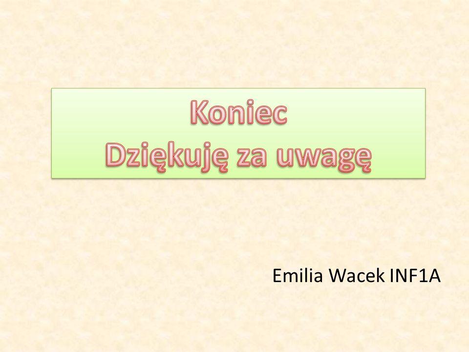 Emilia Wacek INF1A