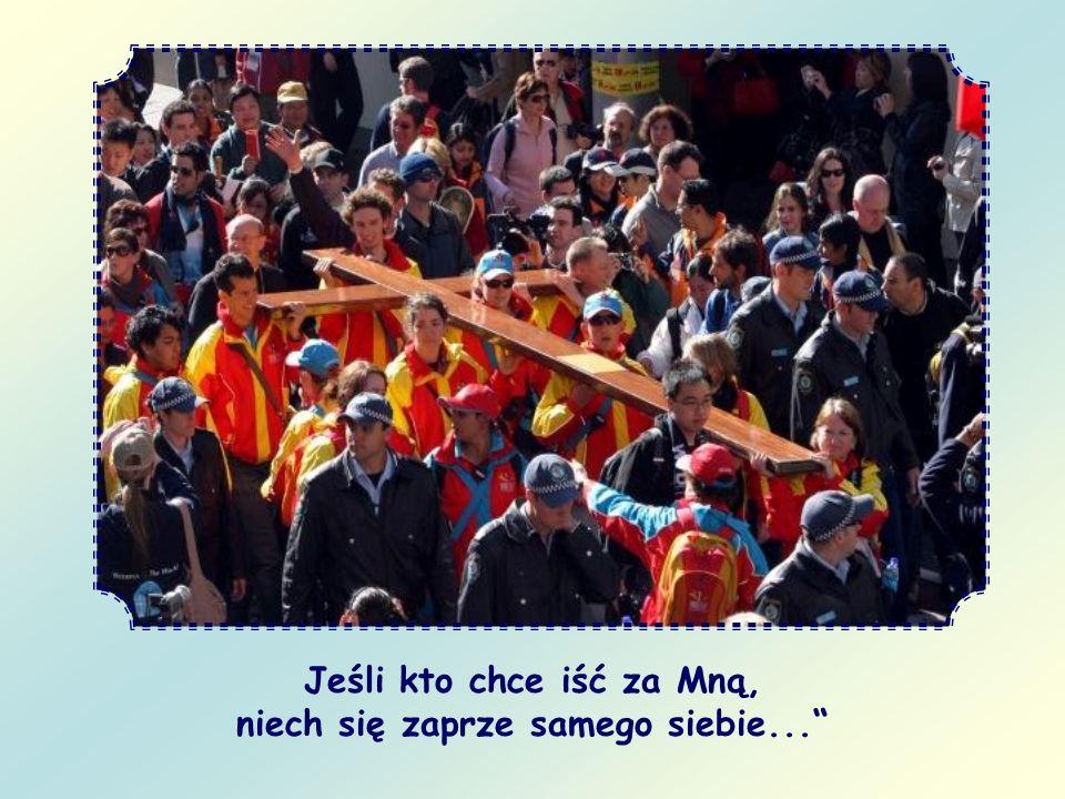 A gdzie je stawiać.Po śladach, które Chrystus sam zostawił na ziemi: są nimi Jego słowa.