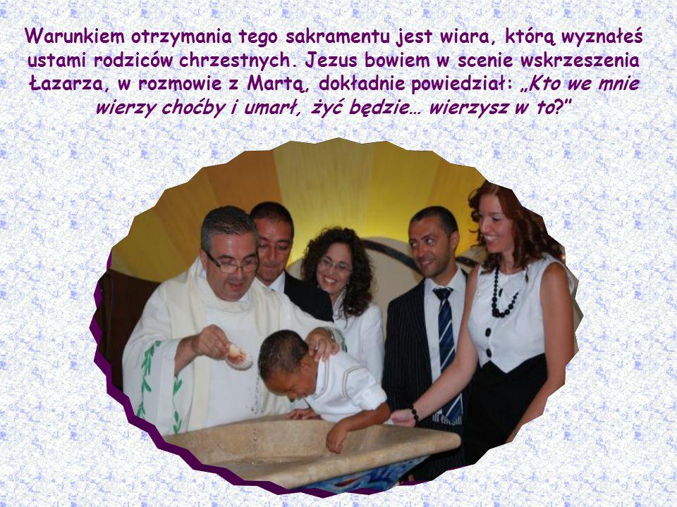 Kiedy narodziło się w tobie to Życie, które nie umiera? W czasie chrztu. Wtedy, mimo że jesteś istotą, która musi umrzeć, otrzymałeś od Chrystusa Życi